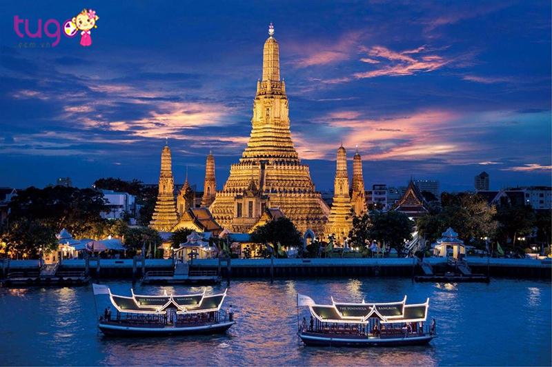 Ngắm sông Chao Phraya thơ mộng