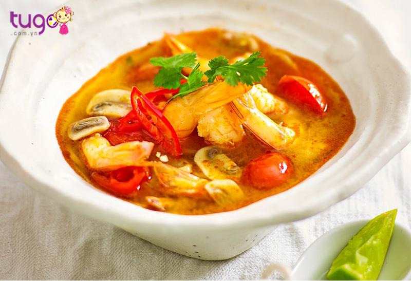 Tom Yum - món ăn đặc trưng của người Thái