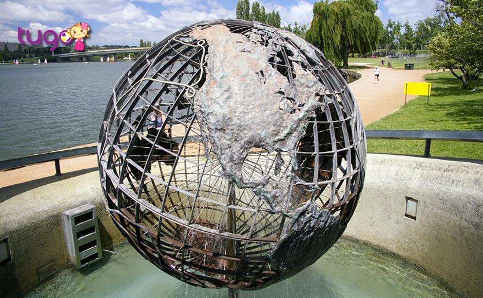 Đài phun nước Captain James Cook Memorial