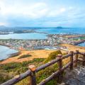 Đảo Jeju có thời tiết mát mẻ, ôn hòa quanh năm