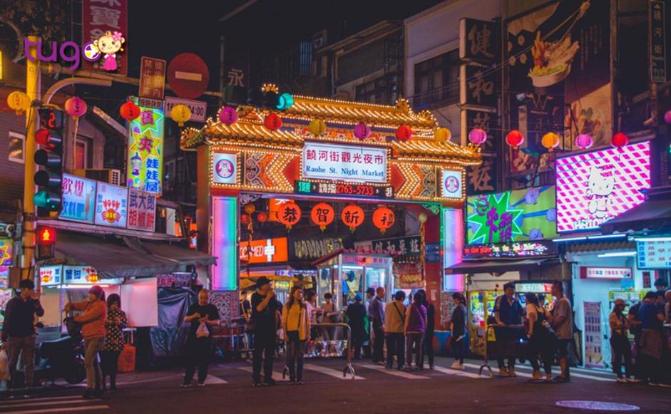 Ở Đài Loan cũng có nhiều khu chợ đêm sầm uất và náo nhiệt