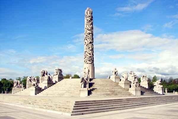 Kết quả hình ảnh cho Công viên Vigeland Sculpture