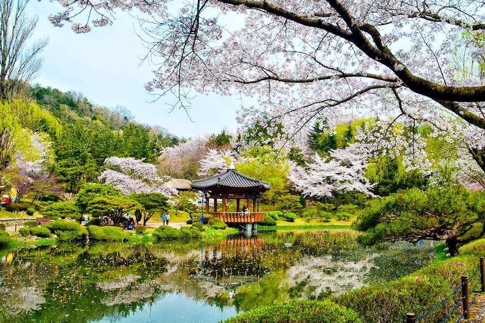 Khung cảnh mùa xuân đầy quyến rủ