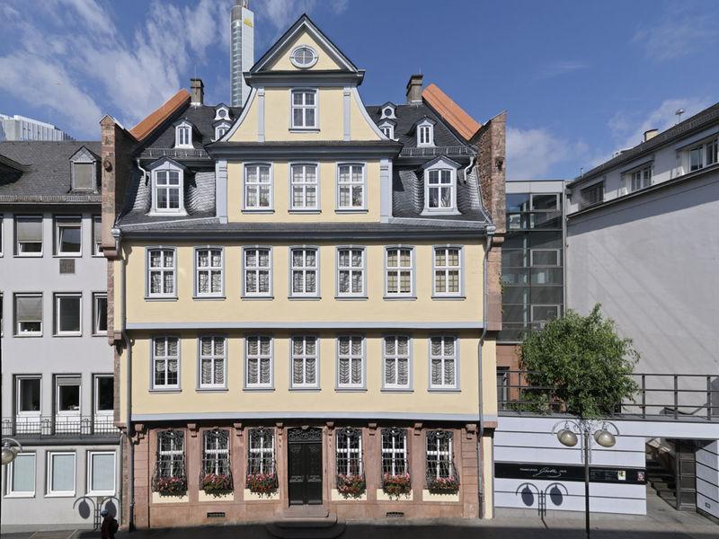 Kết quả hình ảnh cho Goethe House - Frankfurt
