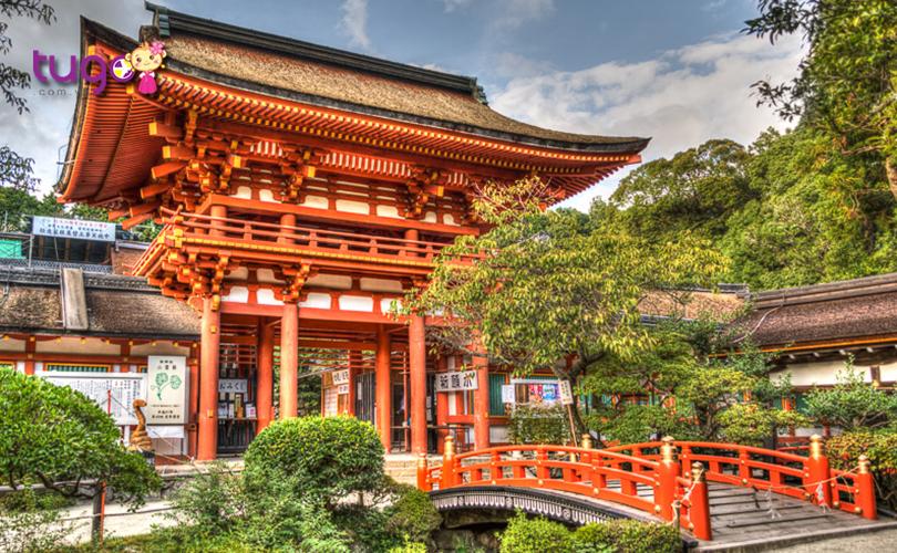 12_Ngôi đền được tổ chức Unesco công nhận là di sản thế giới với tư cách là tài sản văn hóa cố đô Kyoto