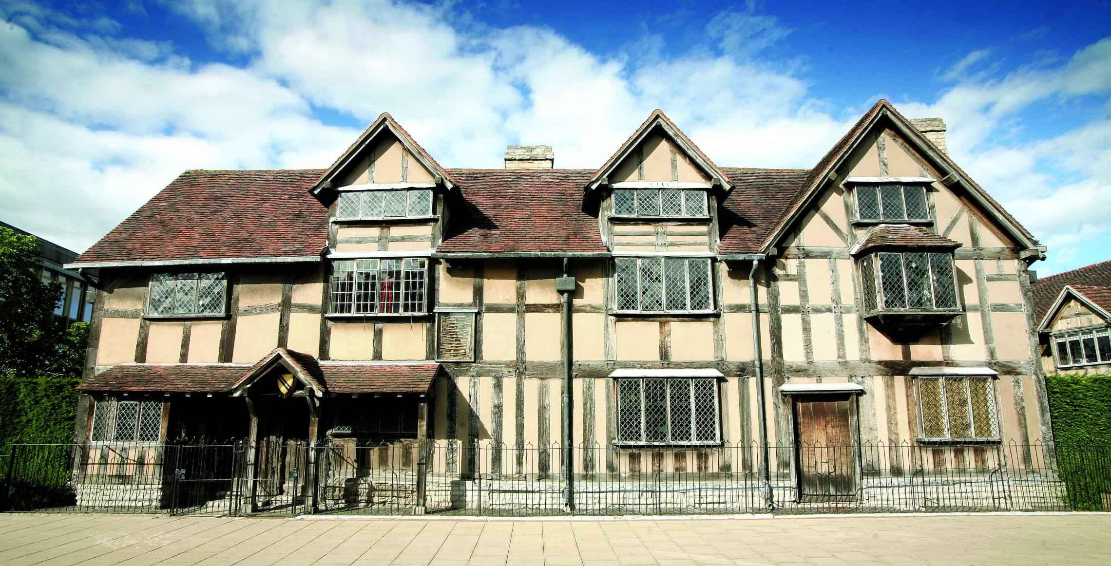 Kết quả hình ảnh cho Shakespeare's Birthplace