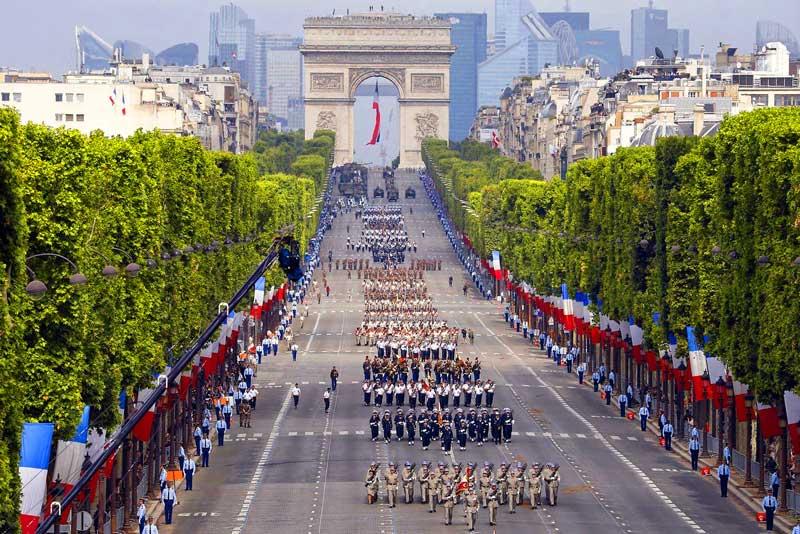 Kết quả hình ảnh cho Đại lộ Champs Elysees