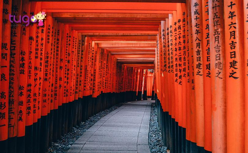 1_Kyoto là thành phố vốn rất nổi tiếng với các ngôi đền thờ Thần đạo