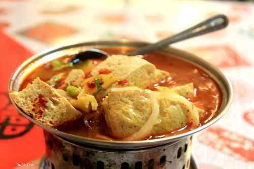 Đậu phụ thối - món ăn nổi tiếng Đài Loan.