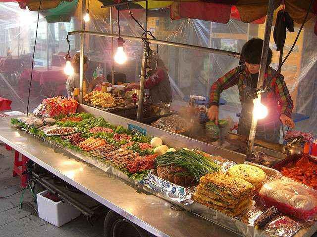 Một góc chợ Namdaemun