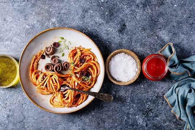 Mì Ý từng được biết là món ăn đắt giá chỉ dành cho nhà giàu