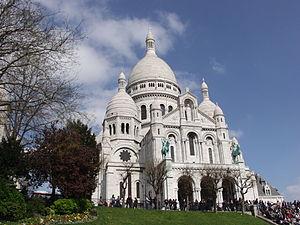 Kết quả hình ảnh cho Vương cung thánh đường Sacré-Cœur, Paris