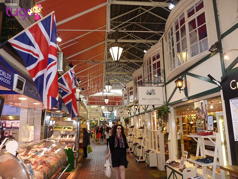Kết quả hình ảnh cho Khu chợ Oxford Covered Market