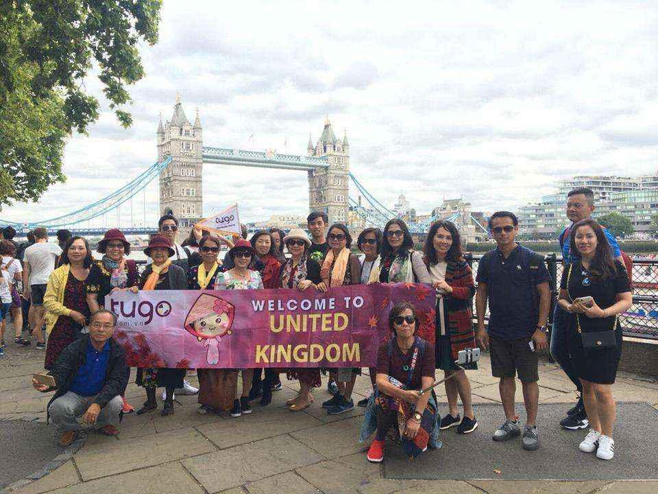 TOUR ANH QUỐC 7N6D: SẮC VÀNG LONDON ( FREE & EASY)