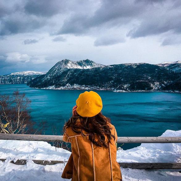 Hồ Mashu trong một ngày mùa đông - Ảnh: Instagram/Penny