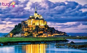 Mont Saint-Michel sẽ là điểm dừng chân tuyệt vời tại Pháp