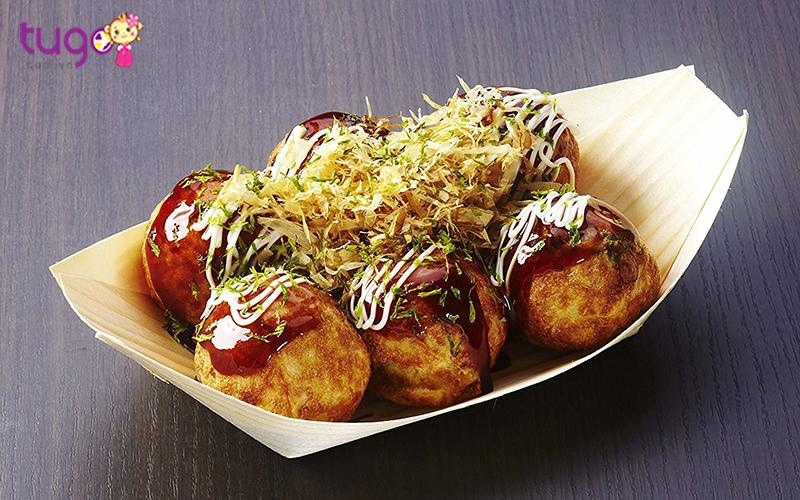 Món Takoyaki cực hấp dẫn