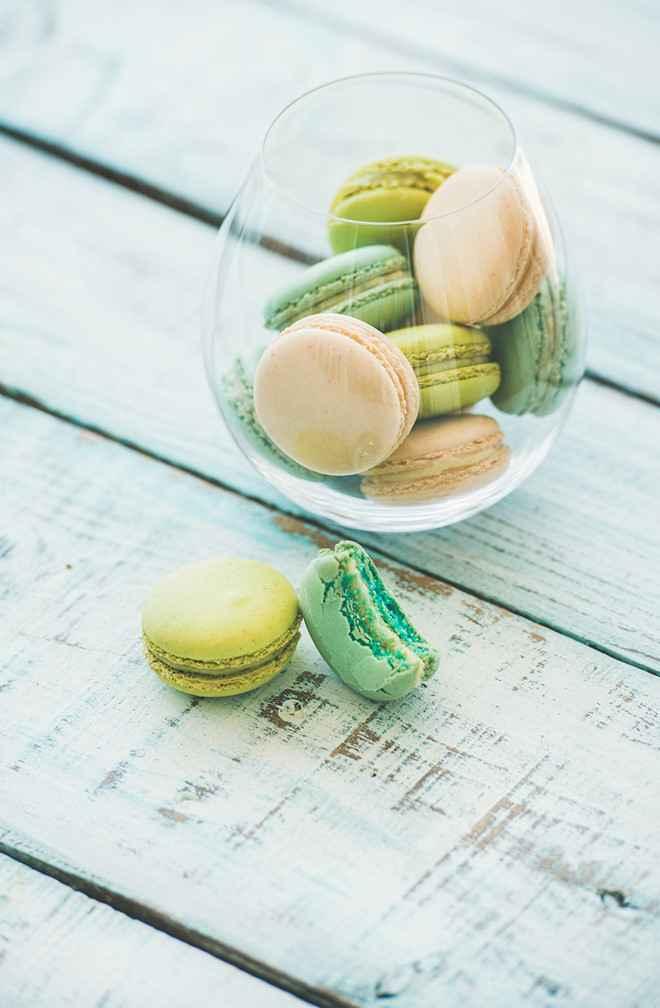 Những chiếc bánh Macaron không chỉ đẹp mà còn rất ngon lành