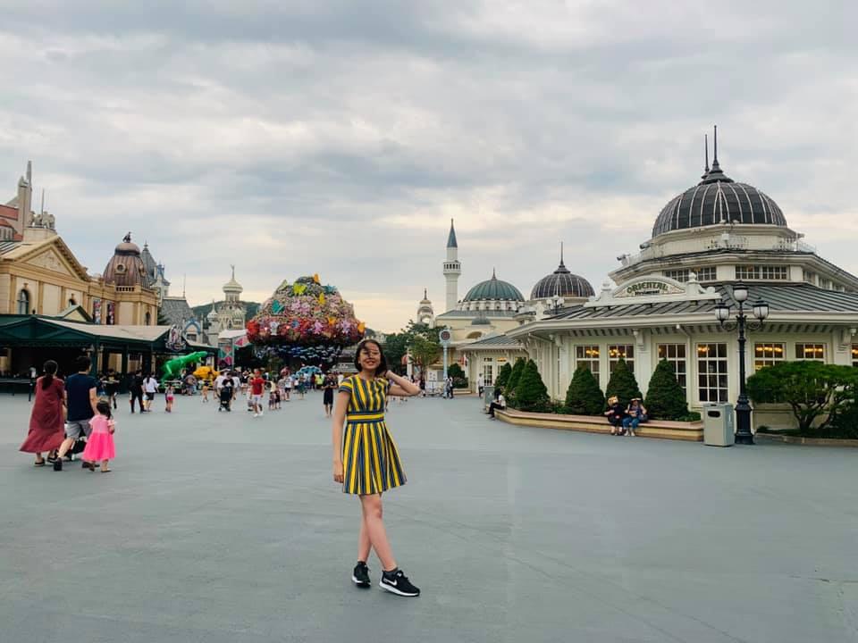Công viên Everland kết hợp cả những trò chơi cảm giác mạnh và vườn hoa bốn mùa tugo.com.vn