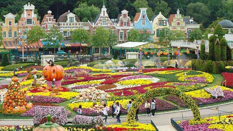 Công viên Everland là một trong những công viên lớn nhất thế giới