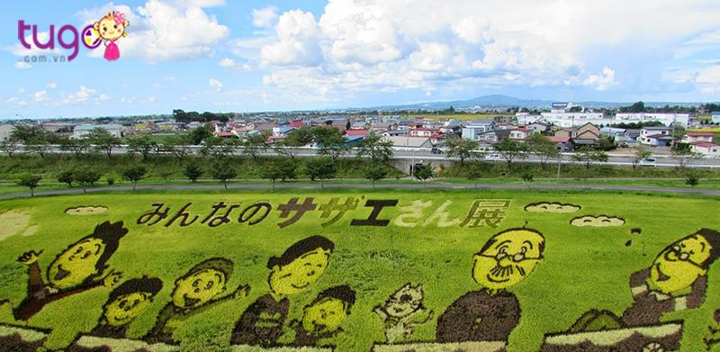 Tanbo ato – vẽ tranh trên đồng lúa