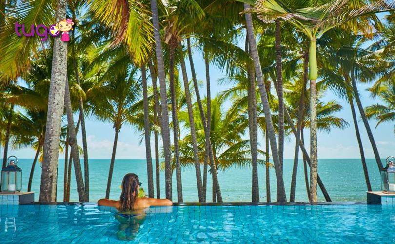 Bãi biển Palm Cove sở hữu những khung cảnh thơ mộng mà bất kì du khách nào cũng không thể chối từ