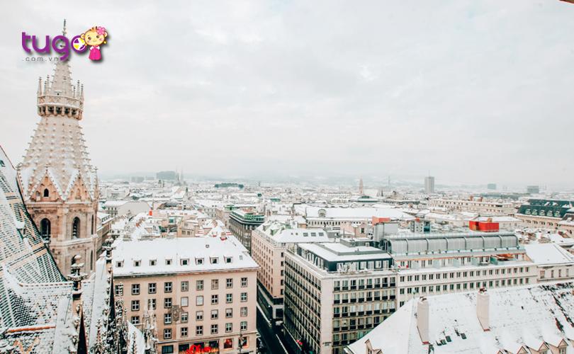 Bạn muốn khám phá những cảnh đẹp mùa đông ở Châu Âu? Đừng bỏ qua thủ đô Vienna của nước Áo!