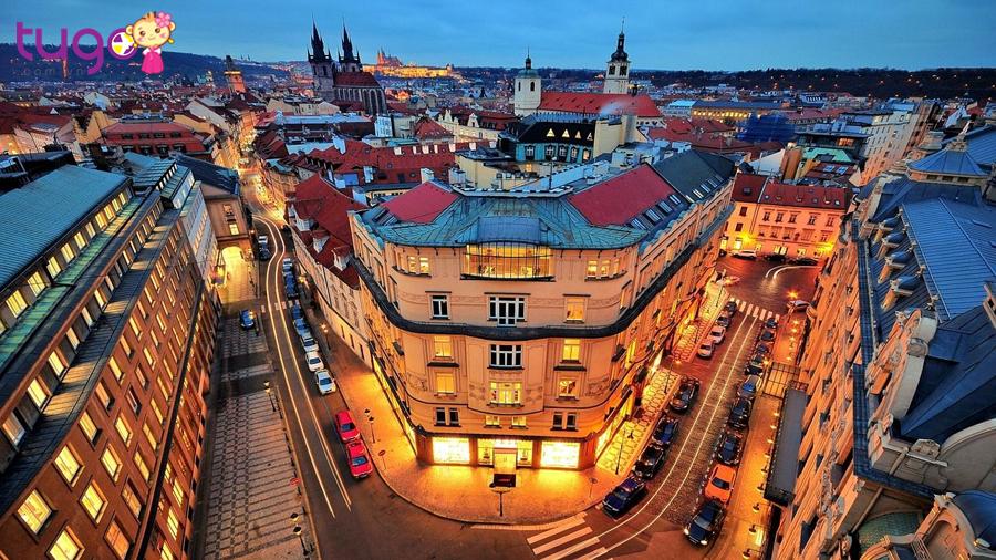 Nên đến Praha vào mùa xuân tháng 4, tháng 5 khi thời tiết ôn hòa, dễ chịu