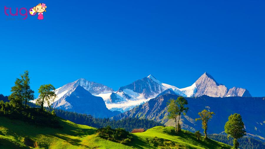 Đất nước Thụy Sĩ yên bình