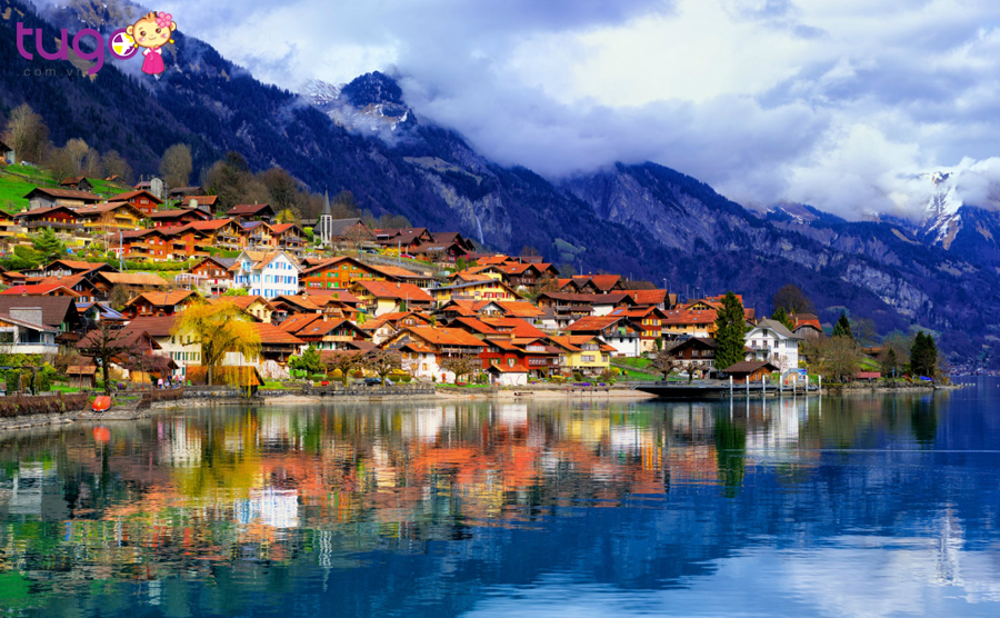 Thụy Sĩ là một quốc gia nhỏ ở Trung Âu