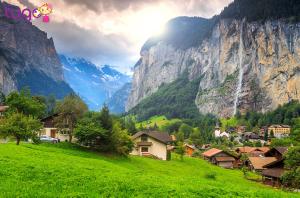 Mùa hè Thụy Sĩ rực rỡ nắng