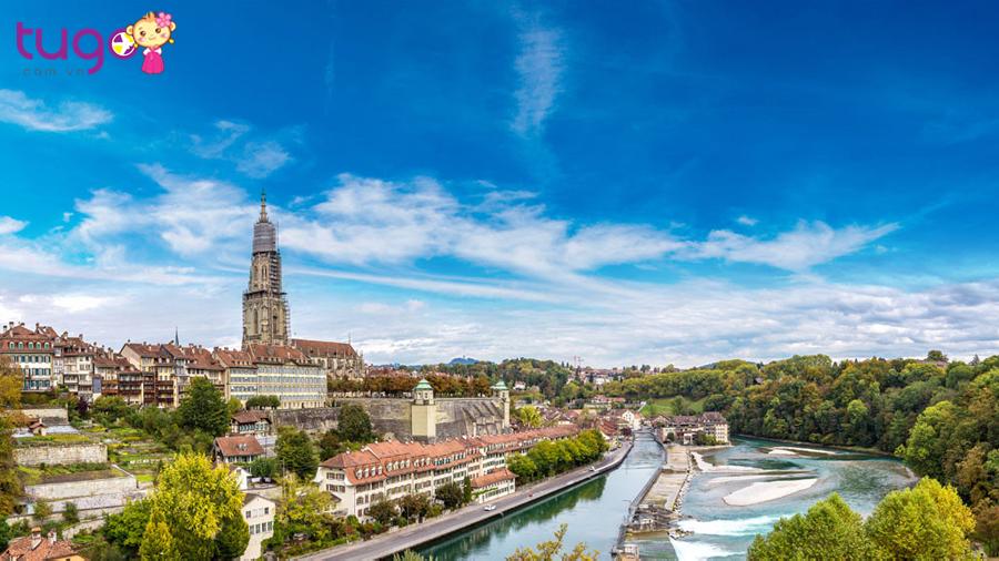 Thủ đô Bern yên ả, thơ mộng