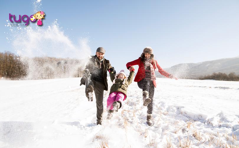 Các trang phục giữ ấm chắc chắn không thể thiếu trong hành lý du lịch Mỹ của bạn trong tháng 2 này