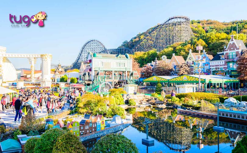 Công viên giải trí Everland - Một trong những điểm đến hấp dẫn hàng đầu ở Hàn Quốc