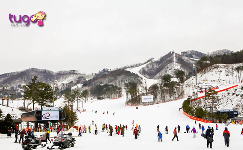 Công viên tuyết Oak Valley tuy có diện tích khá nhỏ nhưng vẫn mang đến cho du khách nhiều trải nghiệm tuyệt vời