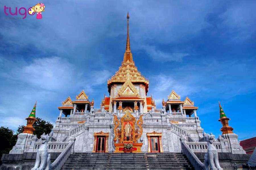"""Quý khách sẽ ghé thăm """"Chùa Phật Vàng"""" lớn nhất thế giới"""