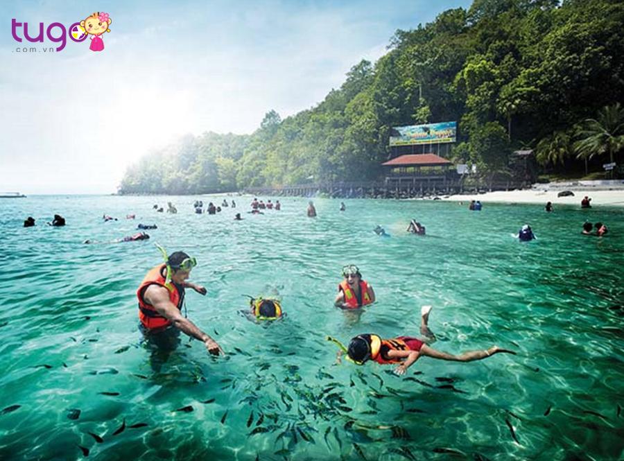 Đảo nhiệt đới Langkawi xanh mát đang chờ bạn ở Thái Lan