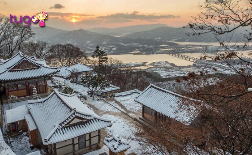 Cảnh sắc ấn tượng của mùa đông Hàn Quốc