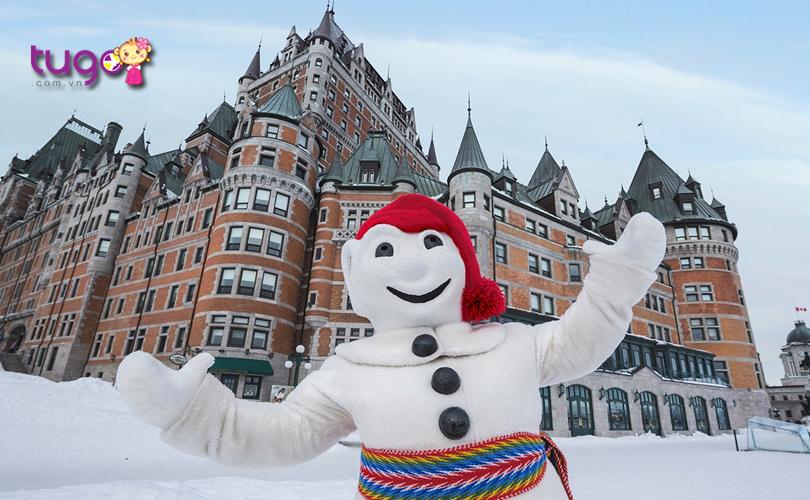 Carnaval de Quebec là một trong những festival mùa đông hấp dẫn bậc nhất hiện nay