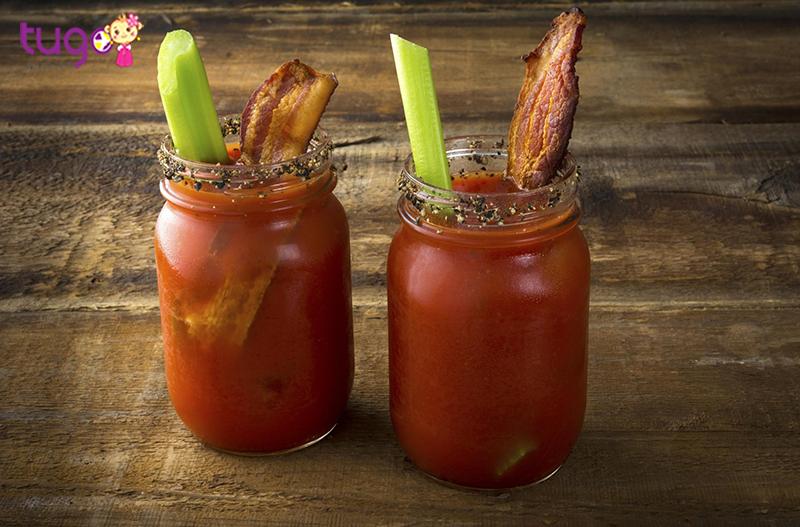 Bloody Caesar thức uống kì quặc của nước Canada