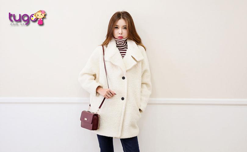 Chiếc áo len là trang phục không thể thiếu cho chuyến du lịch Hàn Quốc tháng 11