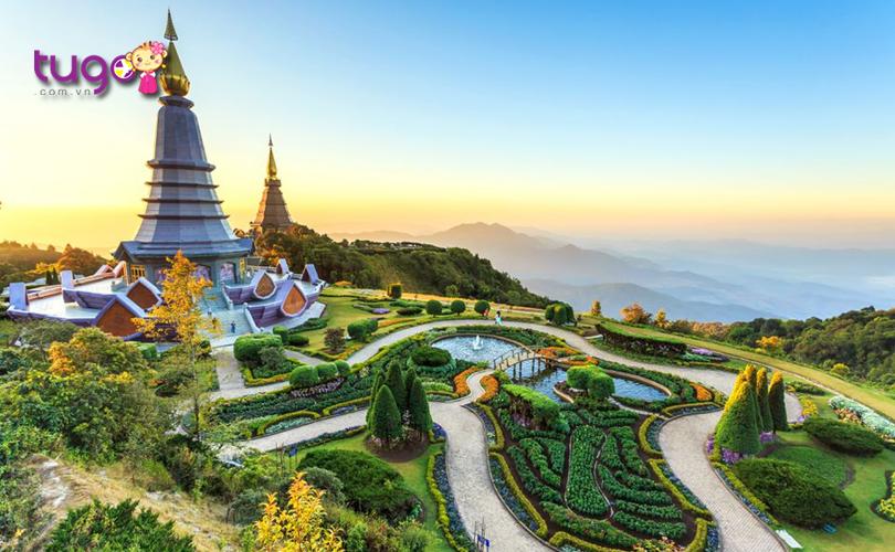 """Chiang Mai - """"Bóng hồng phương Bắc"""" đầy ngọt ngào ở Thái Lan"""