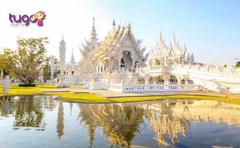 Chiang Rai là một thành phố yên bình với nhiều cảnh sắc tươi đẹp ở phía Bắc Thái Lan