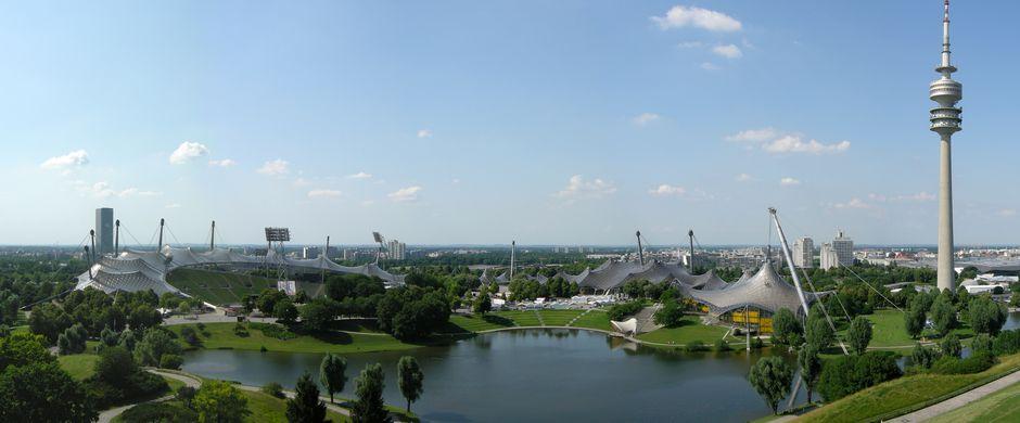 Công viên Olympic - Olympiapark - Munich - Đức