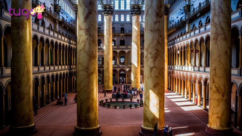 Du khách có thể thoải mái khám phá các bảo tàng khi du lịch đến Mỹ