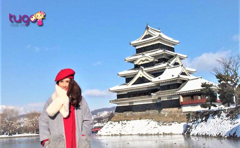 Du lịch ở Nhật Bản tháng 2, du khách nên chuẩn bị nhiều quần áo giữ ấm cho cơ thể