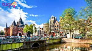 Du lịch Hà Lan, đừng quên ghé thăm thủ đô Amsterdam xinh đẹp nhé