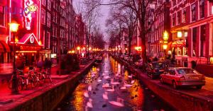 Khu phố đèn đỏ tại Hà Lan