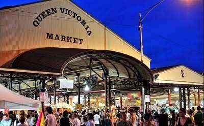 Chợ Queen Victoria ở Melbourne Úc