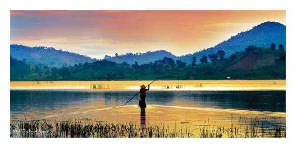 Hồ Lak – Ảnh: Kiên Huyện